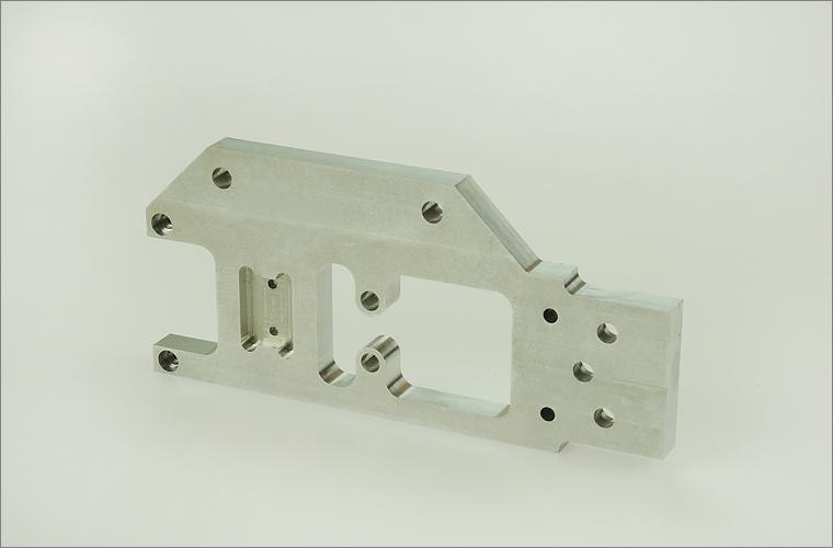 Grundplatte aus Aluminium