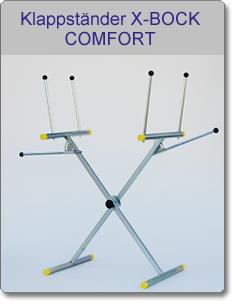 Klappständer X-BOCK COMFORT